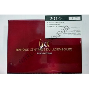 EUROSET PROOF LUXEMBURGO 2014.